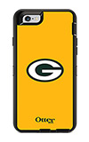 OtterBox Defender Series NFL Green Bay Packers Case and Holster - iPhone 6/6s