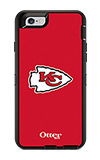 OtterBox Defender Series NFL Kansas City Chiefs Case and Holster - iPhone 6/6s
