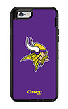 OtterBox Defender Series NFL Minnesota Vikings Case and Holster - iPhone 6/6s