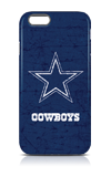 Skinit Dallas Cowboys Navy Blue Distressed Case - iPhone 6/6s