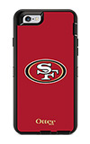 OtterBox Defender Series NFL San Francisco 49ers Case and Holster - iPhone 6/6s