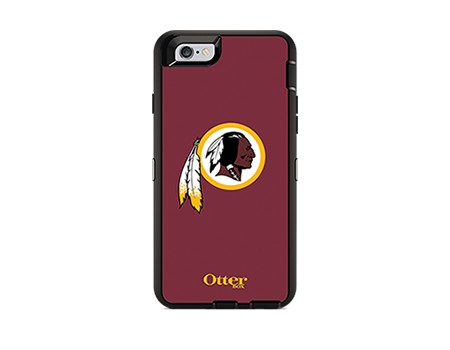 OtterBox Defender Series NFL Washington Redskins Case and Holster for iPhone 6/6s  ATT