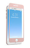 Zagg InvisibleShield Glass + Luxe Screen Protector Rose Gold - iPhone 6s Plus/7 Plus