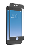 Zagg InvisibleShield Glass + Luxe Screen Protector Black - iPhone 6s/7