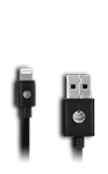 AT&T 9-inch Charge & Sync Black Lightning Cable