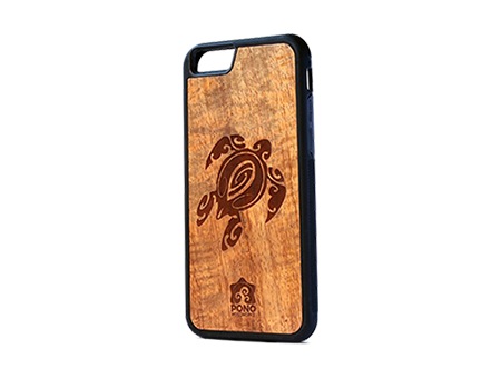 Pono Woodworks Iphone Case