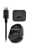 AT&T Power Bundle (Wall Charger, Vehicle Charger, Lightning Cable)