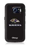 OtterBox Defender Series NFL Baltimore Ravens Case and Holster - Samsung Galaxy S6