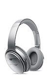 Bose QuietComfort 35 wireless headphones Silver