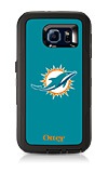 OtterBox Defender Series NFL Miami Dolphins Case and Holster - Samsung Galaxy S6