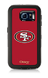 OtterBox Defender Series NFL San Francisco 49ers Case and Holster - Samsung Galaxy S6