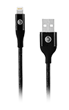 AT&T Braided Lightning Cable (Tri-Pack) - Black