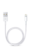 Apple Lightning to USB Cable (.5m) White