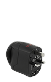 Tumi Universal Power Grounded Adaptor - Black
