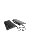 ZAGG Micro USB Wired Keyboard Black