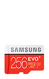Samsung Micro SD EVO+ Memory Card w/Adapter