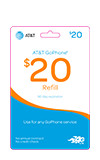 $20 GoPhone Refill Card