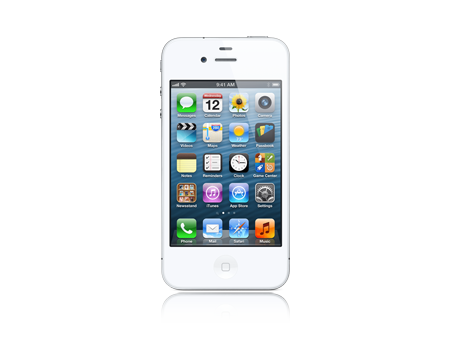 Apple-iPhone 4 - 8 GB-White