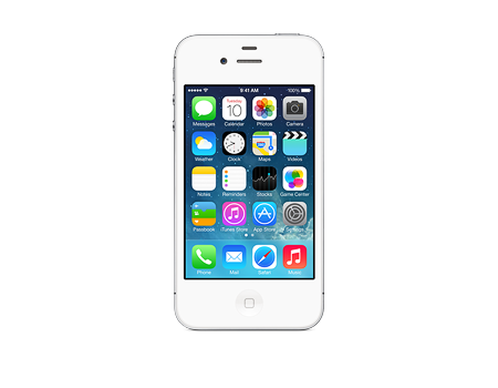 Apple-iPhone 4s - 32GB-White