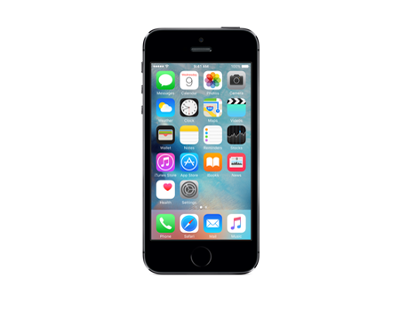 Apple-iPhone 5s - 16GB $199.99 with the Purchase of $45 Airtime Card-Space Gray