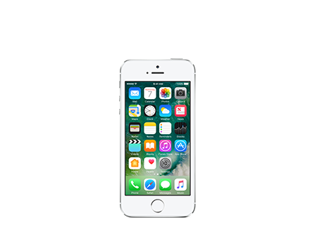 Apple-iPhone 5s - 32GB-Silver