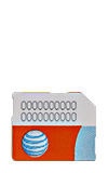 Details for AT&T Micro SIM Card - Tablets