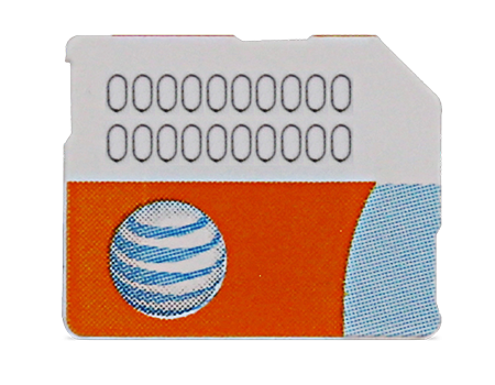 AT&T-SIM Card - Samsung Galaxy S6 Series-Black