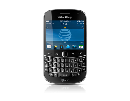 BlackBerry-Bold 9900-Charcoal Black
