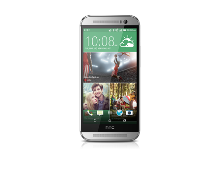 HTC-One (M8)-Glacial Silver