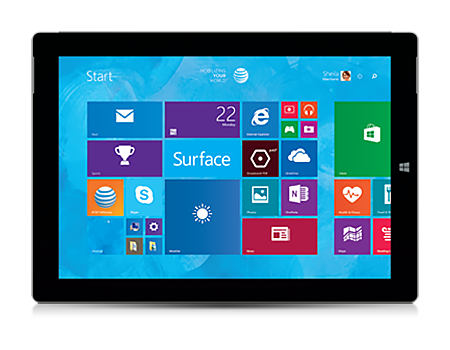 Microsoft-Surface 3-Silver