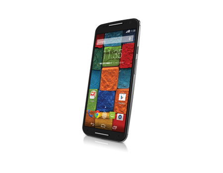 Motorola-X (2nd Generation)-Black Leather