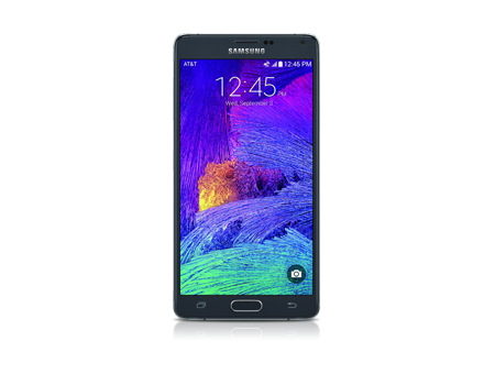 Samsung-Galaxy Note 4-Charcoal Black