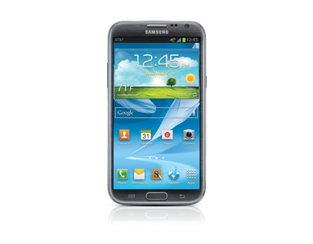 Samsung-Galaxy Note II-Titanium Gray