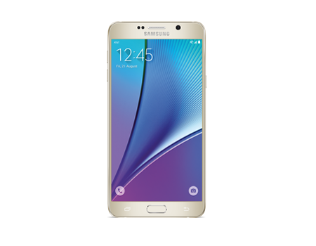 Samsung-Galaxy Note5 64GB-Gold Platinum