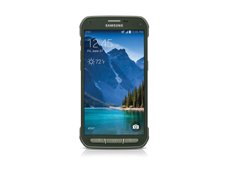 Samsung-Galaxy S 5 Active-Camo Green