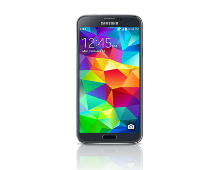 Samsung-Galaxy S 5-Charcoal Black