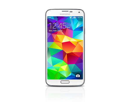 Samsung-Galaxy S 5-Shimmery White