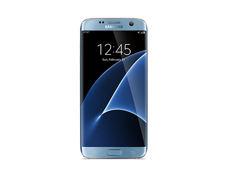 Samsung-Galaxy S7 edge-Blue Coral
