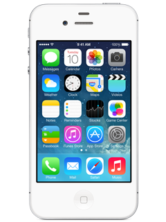 Apple iPhone 4s - 8GB - White - GoPhone