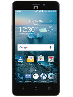 ZTE Maven 2 GoPhone - Dark Gray